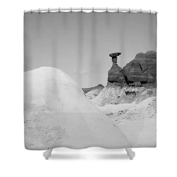 Paria Utah V Shower Curtain by Dave Gordon