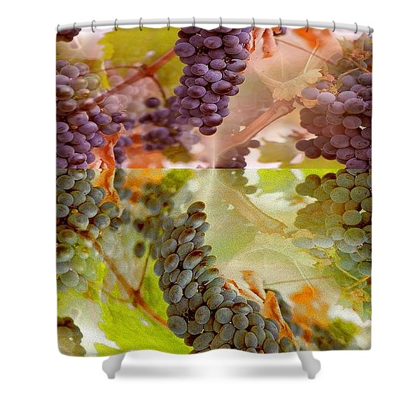 PASSIONATE SQUEEZE Shower Curtain by PainterArtist FIN