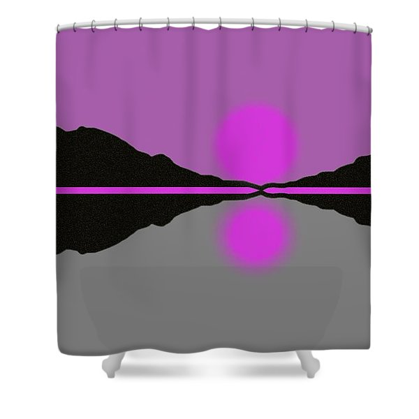 Pastel Sunrise Shower Curtain by George Pedro