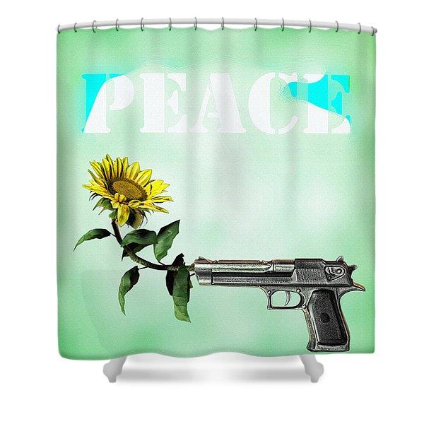Peace Shower Curtain by Bob Orsillo