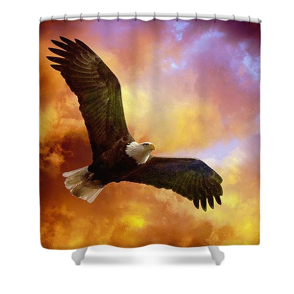 Perseverance Shower Curtain by Lois Bryan