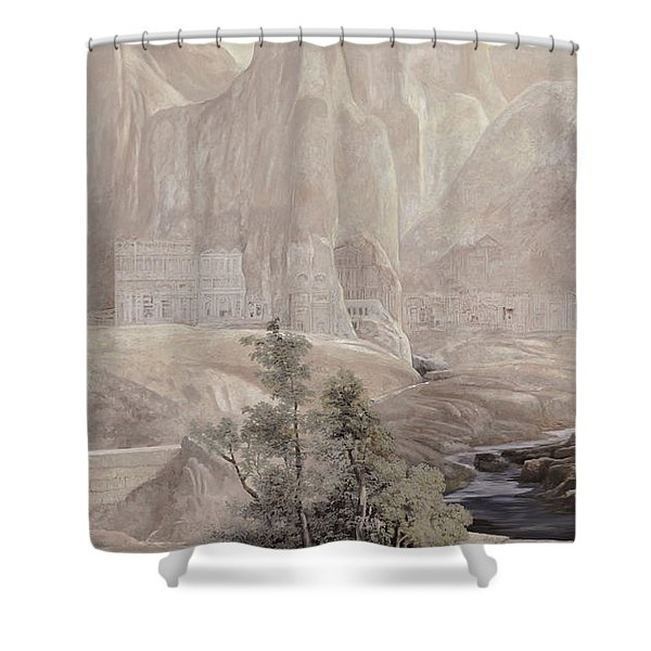 Petra Shower Curtain by Guido Borelli