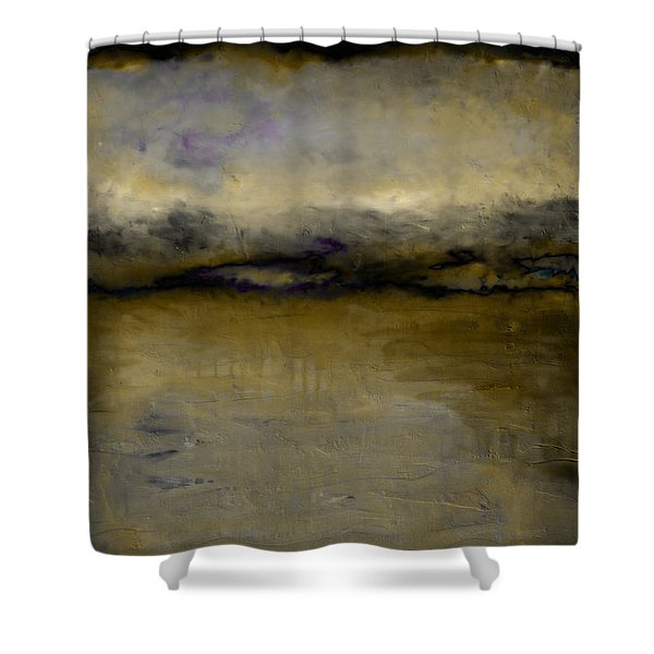 Pewter Skies Shower Curtain by Michelle Calkins