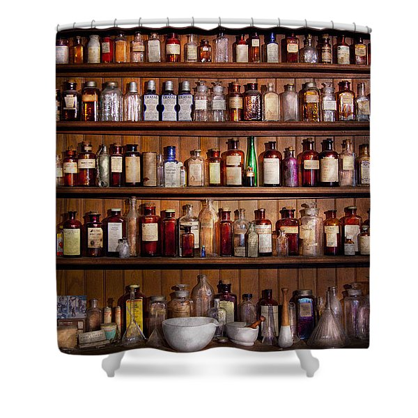 Pharmacy - Pharma-palooza  Shower Curtain by Mike Savad