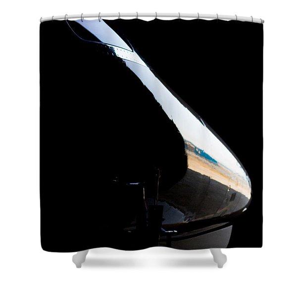 Phenom Reflection Shower Curtain by Paul Job