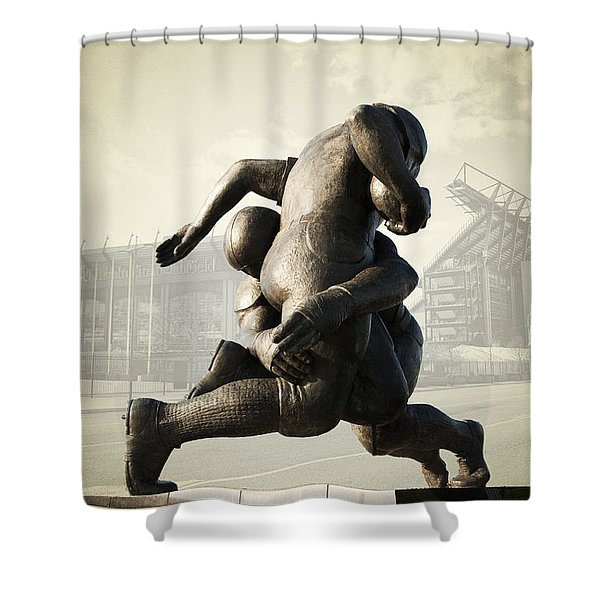 Philadelphia Eagles Shower Curtain by Bill Cannon