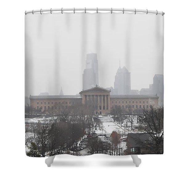Philadelphia from Lemon Hill Shower Curtain by Bill Cannon