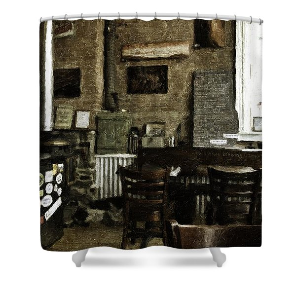 Phillipsburg Brewing Company Shower Curtain by Image Takers Photography LLC - Carol Haddon