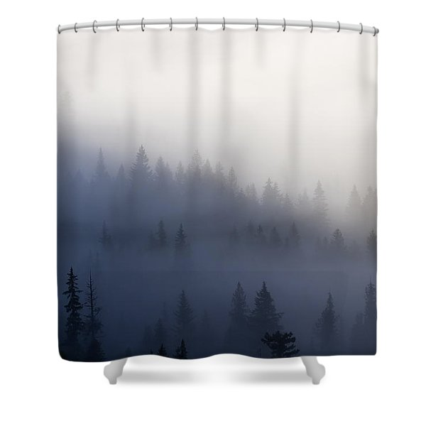 Piercing The Veil Shower Curtain by Mike  Dawson