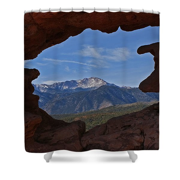 Pikes Peak 2 2012 Shower Curtain by Ernie Echols