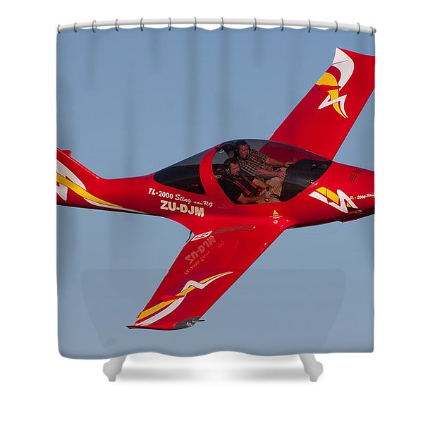 Pilots Shower Curtain by Paul Job