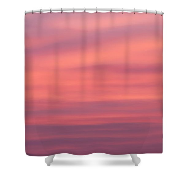 Pink Moon Shower Curtain by Bill  Wakeley