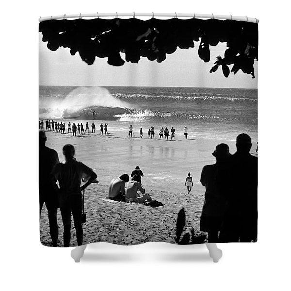 Pipe Arena Shower Curtain by Sean Davey