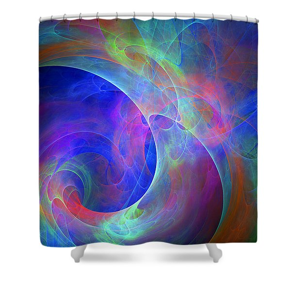 Placeres-05 Shower Curtain by RochVanh