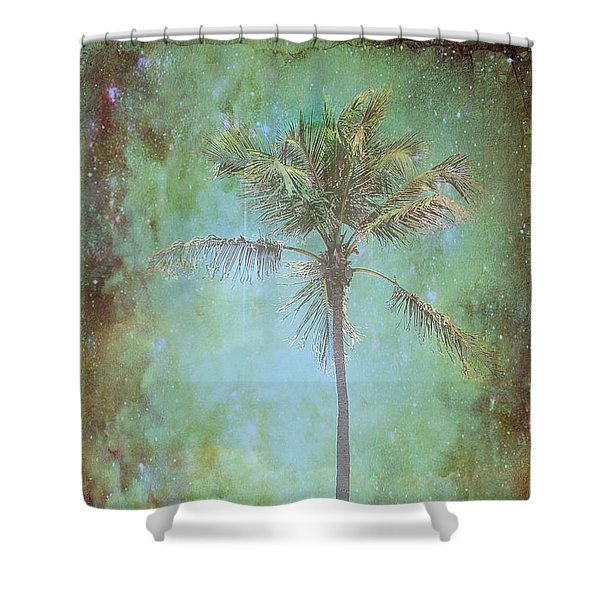 Pleasant Night To Be Alone Shower Curtain by Jan Amiss Photography