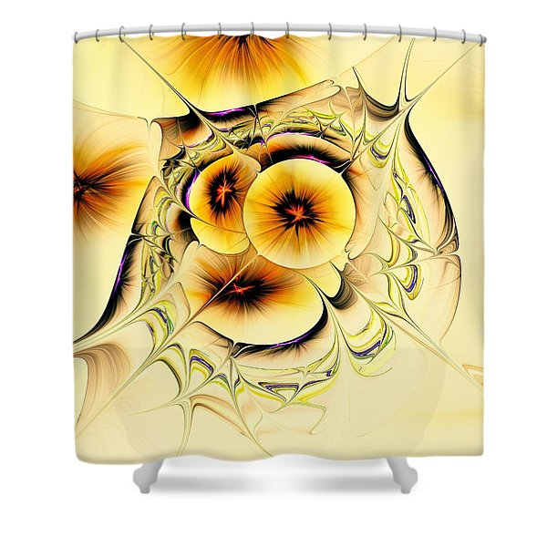 Potpourri Shower Curtain by Anastasiya Malakhova