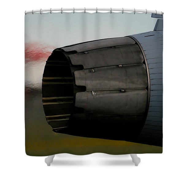 Power II Shower Curtain by Paul Job