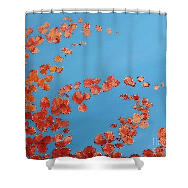 Precious Moments Shower Curtain by Teresa Wegrzyn