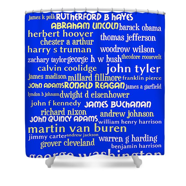 Presidents Of The United States 20130625 Shower Curtain by Wingsdomain Art and Photography