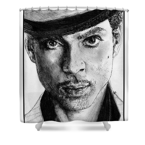 Prince Nelson In 2006 Shower Curtain by J McCombie