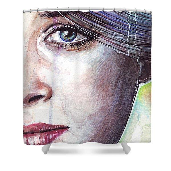 Prismatic Visions Shower Curtain by Olga Shvartsur