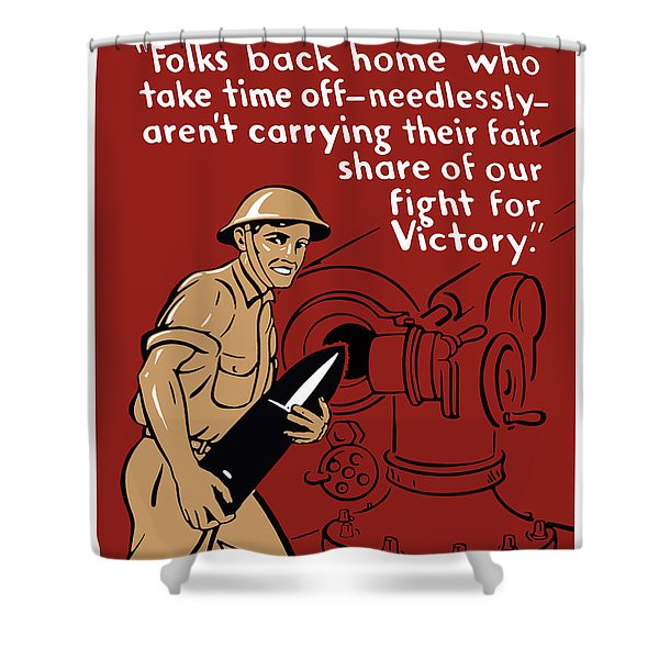 Private Tom Shower Curtain by War Is Hell Store