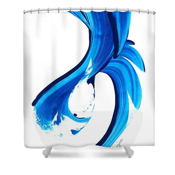 Pure Water 260 Shower Curtain by Sharon Cummings