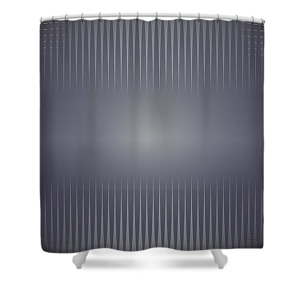 Purple Horizon Shower Curtain by Kevin McLaughlin