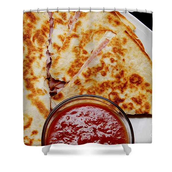Quesadilla Shower Curtain by Andee Design