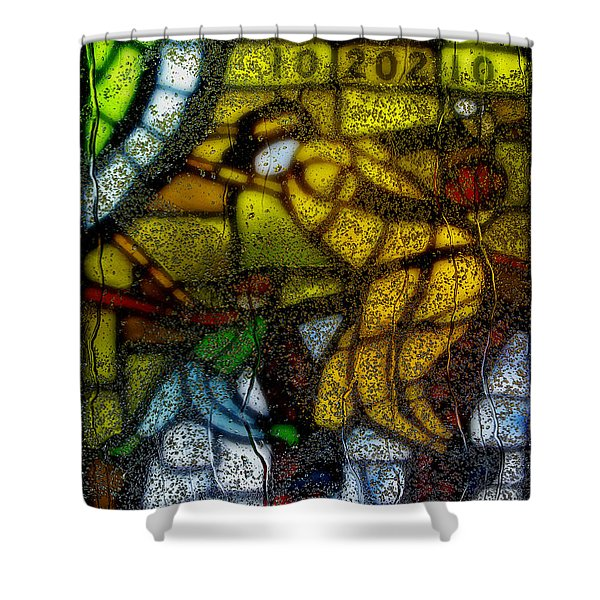 Rainy Day 1 Shower Curtain by Jack Zulli