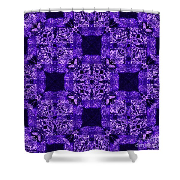 Rattlesnake Abstract 20130204m133 Shower Curtain by Wingsdomain Art and Photography