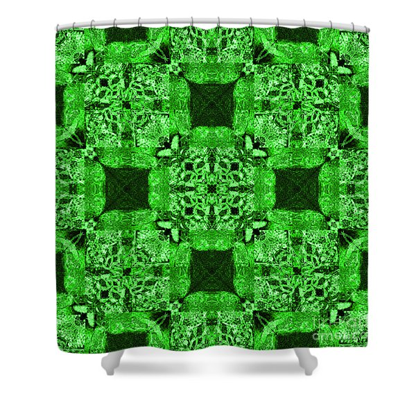 Rattlesnake Abstract 20130204p75 Shower Curtain by Wingsdomain Art and Photography
