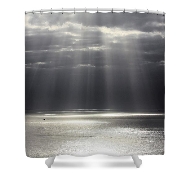 Rays of Hope Shower Curtain by Shane Bechler