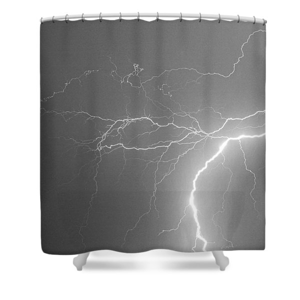 Reaching Out Touching Me Touching You BW Shower Curtain by James BO  Insogna