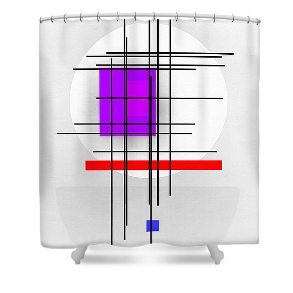 Reckoning Shower Curtain by Richard Rizzo