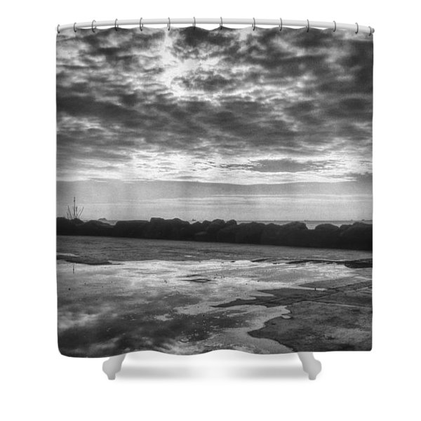 Reflections Shower Curtain by Taylan Soyturk