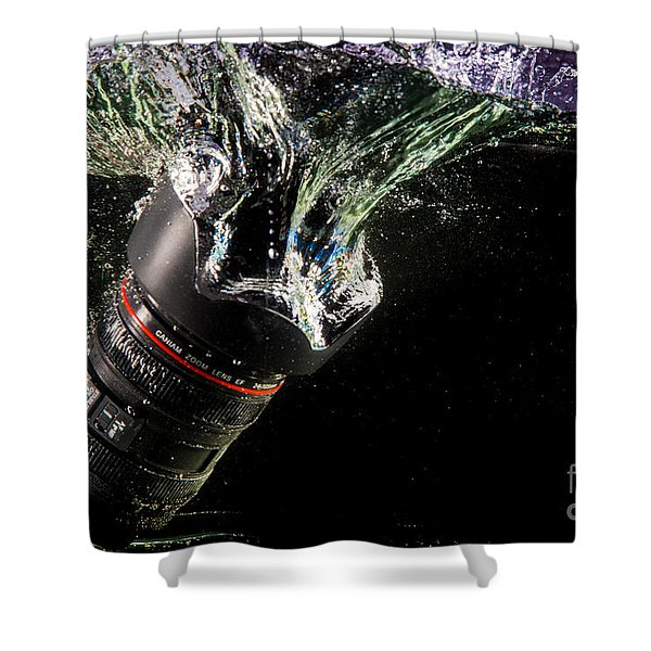 Regrets Shower Curtain by Rene Triay Photography