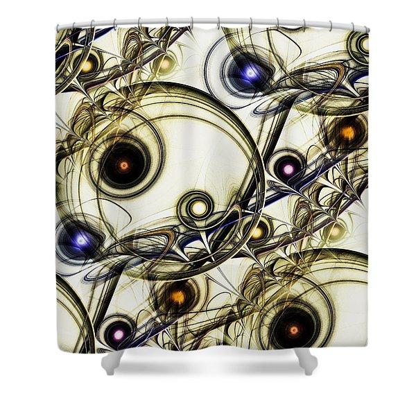 Rejuvenation Shower Curtain by Anastasiya Malakhova