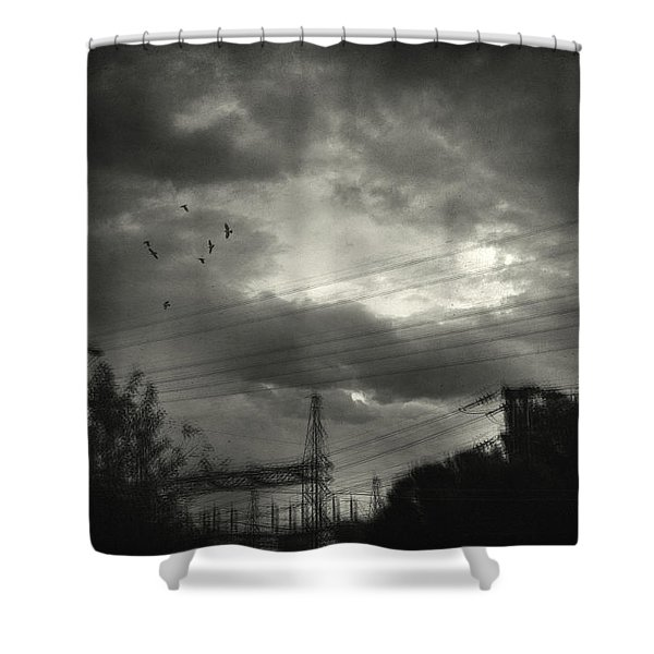 Remember Shower Curtain by Taylan Soyturk