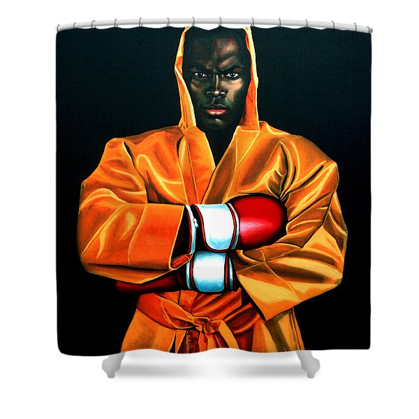 Remy Bonjasky Shower Curtain by Paul  Meijering