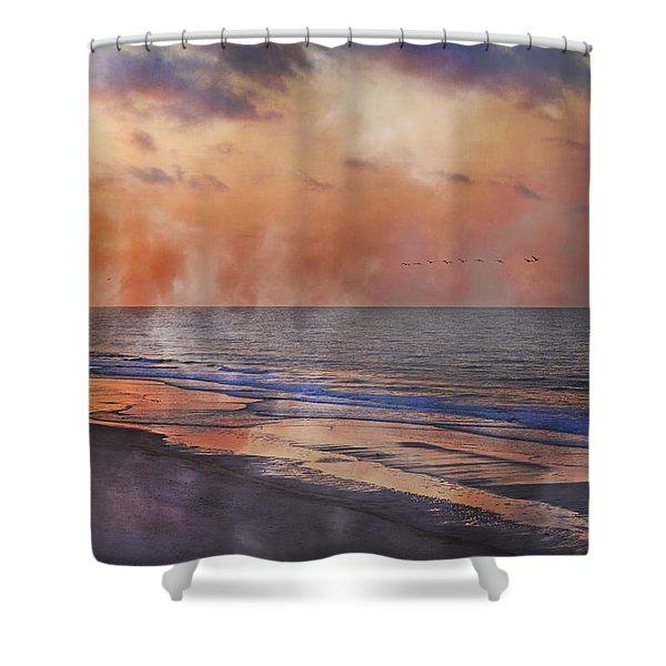 Renewed Shower Curtain by Betsy C  Knapp