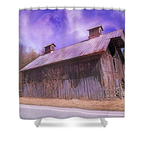 Respect Your Elders Shower Curtain by Betsy C  Knapp