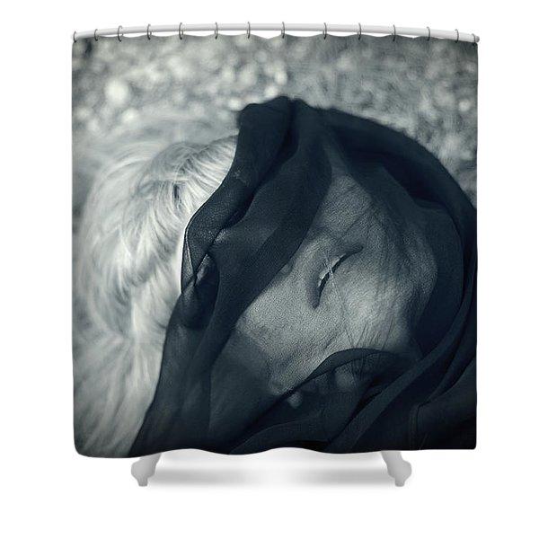 Respiro Shower Curtain by Taylan Soyturk
