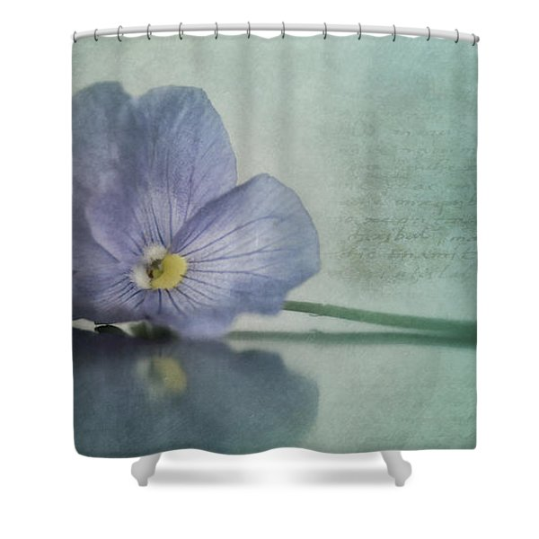 Resting Shower Curtain by Priska Wettstein