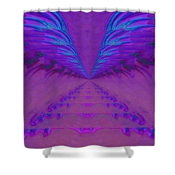 Rhapsody Shower Curtain by Mike Breau