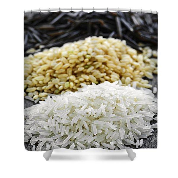 Rice Shower Curtain by Elena Elisseeva