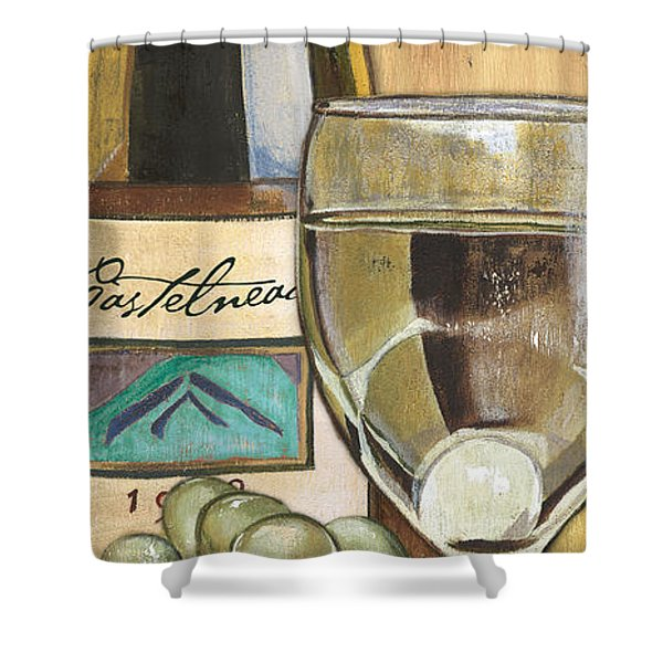Riesling Shower Curtain by Debbie DeWitt