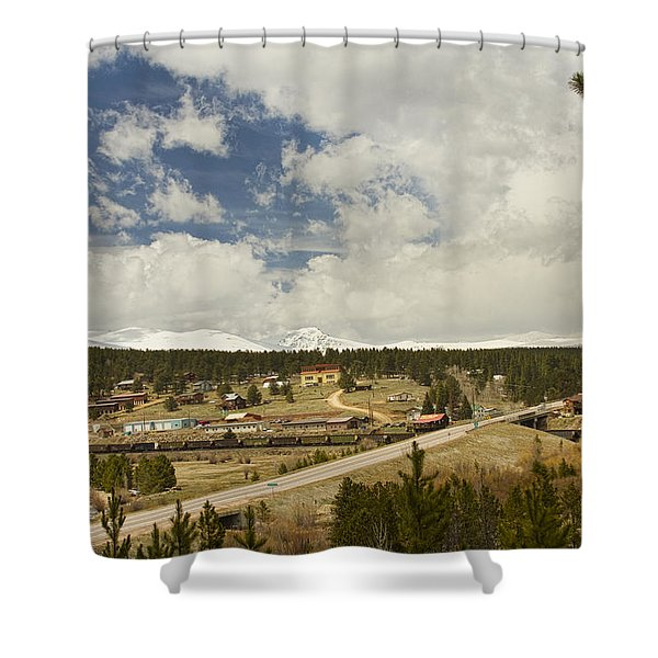 Rollinsville Colorado Shower Curtain by James BO  Insogna