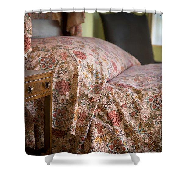 Romantic Bedroom Shower Curtain by Edward Fielding