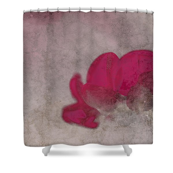 Rondo Floral - 22t02 Shower Curtain by Variance Collections